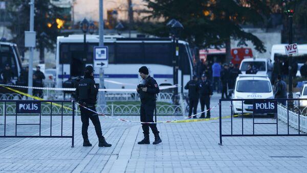 Turkish police officers - Sputnik International