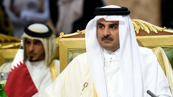 Qatar's Emir Sheikh Tamim bin Hamad Al-Thani - Sputnik International