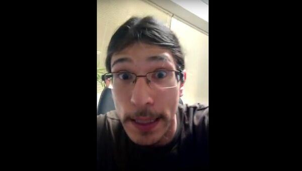 David Fry, an Oregon militia computer expert - Sputnik International