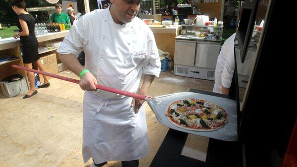 Food fest in Gorky Central Park of Culture and Leisure - Sputnik International