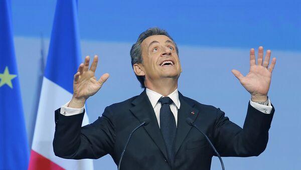 French Former President Nicolas Sarkozy - Sputnik International