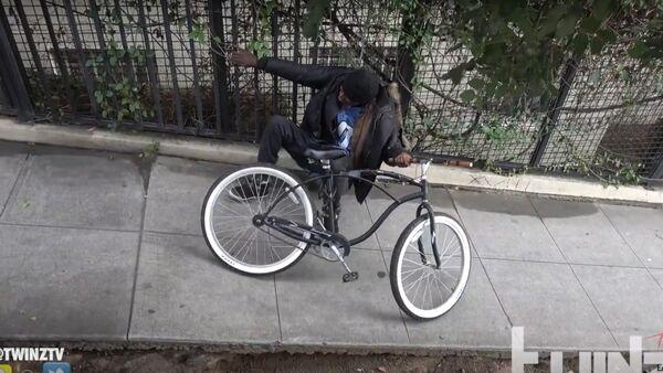 Stolen bikes give thieves electric shock - Sputnik International