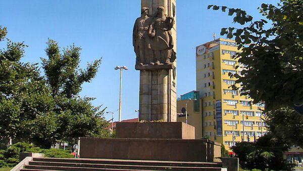 Monument Of Gratitude To Soviet Army - Sputnik International
