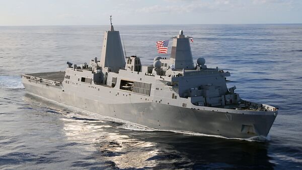 USS San Antonio (LPD-17) - Sputnik International