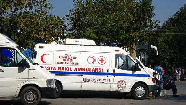 Turkish Ambulance - Sputnik International
