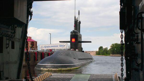 Open-water trials of the diesel submarine St. Petersburg during project Lada - Sputnik International