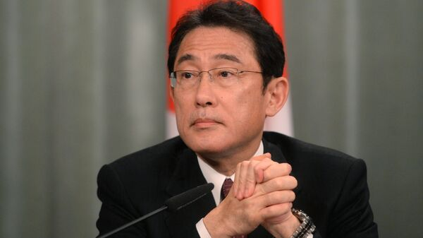 Japanese Foreign Minister Fumio Kishida. File photo - Sputnik International