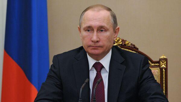 Vladimir Putin holds meeting in Kremlin - Sputnik International