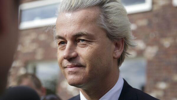 Geert Wilders, leader of the Dutch Party for Freedom - Sputnik International