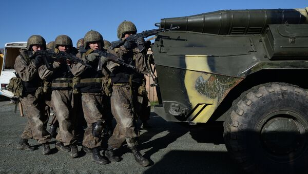 Special Forces competition in Novosibirsk - Sputnik International