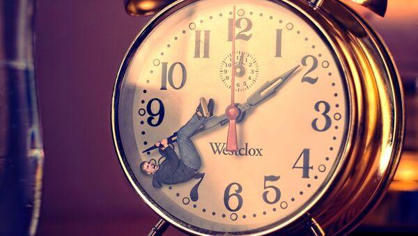A clock - Sputnik International