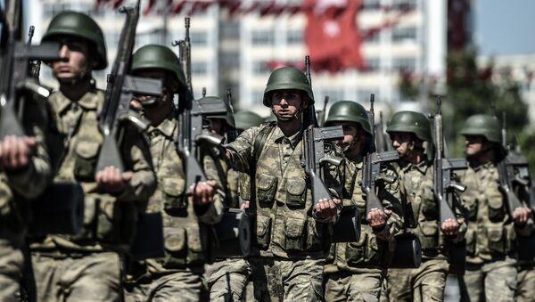 Turkish soldiers - Sputnik International