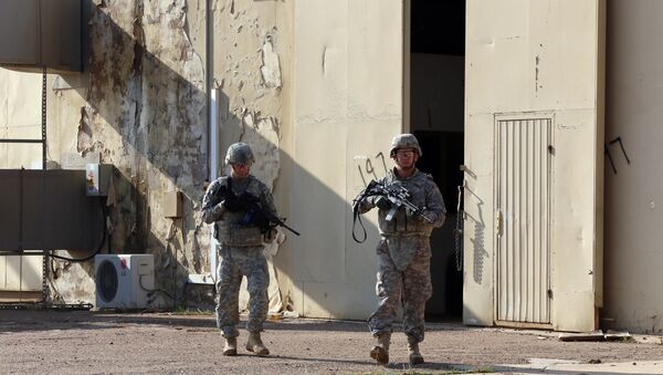 US Defense Secretary Ashton Carter said that the US-led coalition will put boots on the ground to fight against Daesh terrorists in Syria and Iraq. - Sputnik International