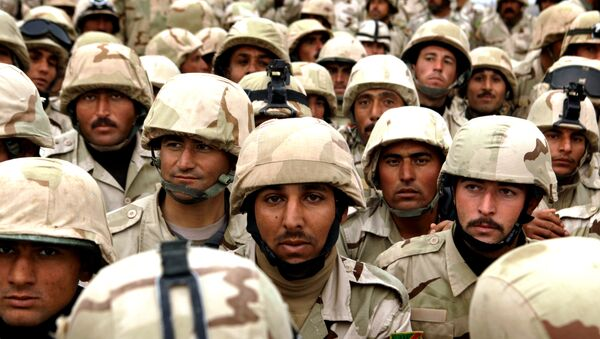 Soldiers from the Third Iraqi Army Division in Mosul, Iraq, Thursday, Jan. 27, 2011. - Sputnik International