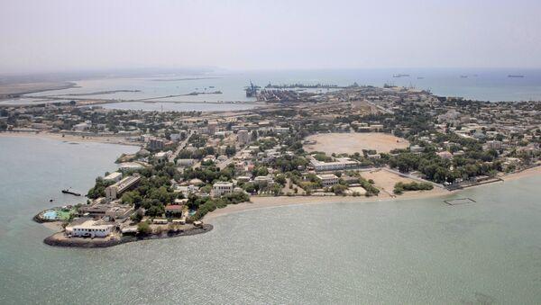 An aerial view of Djibouti - Sputnik International