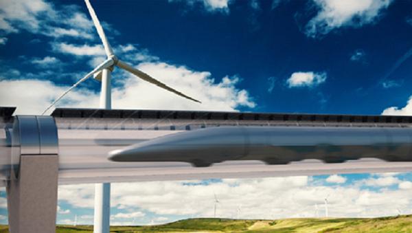Hyperloop Transportation System - Sputnik International