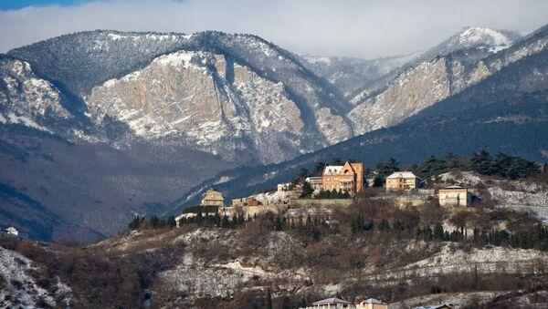 Winter in Crimea - Sputnik International