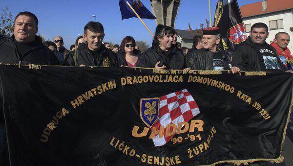 Бранитељи Хрватске - Sputnik International