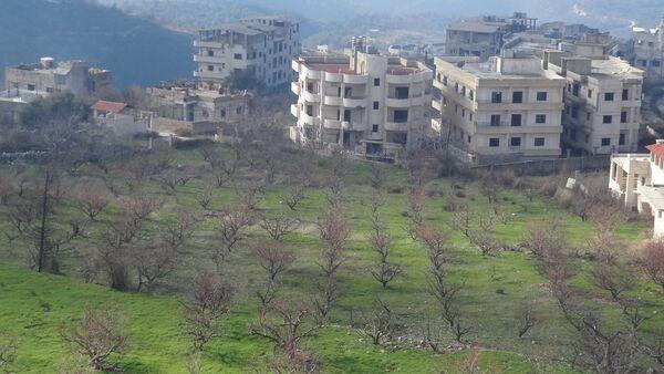 Liberated Syrian Salma, Latakia Province - Sputnik International