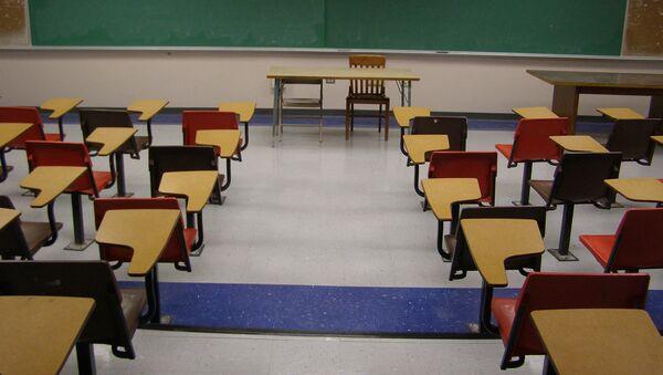 Empty Classroom - Sputnik International