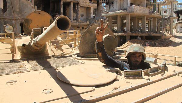 Position of Syrian army at village of Salma and city of Zabadani - Sputnik International