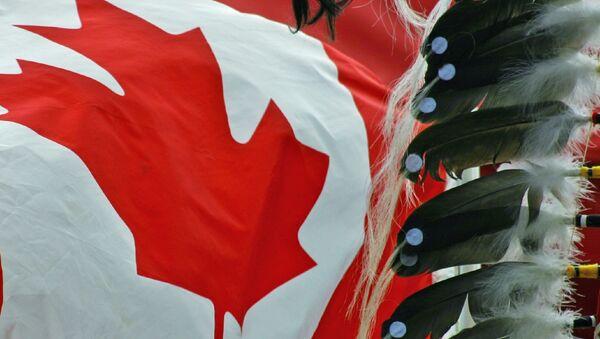 First nation and flag - Sputnik International