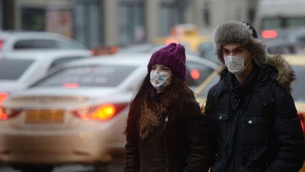Seasonal flu and respiratory infection in Moscow - Sputnik International