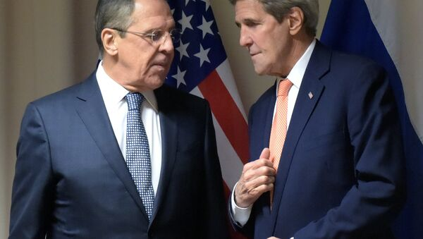 Russian Foreign Affairs' Minister Sergei Lavrov's meeting with U.S. Secretary of State John Kerry - Sputnik International