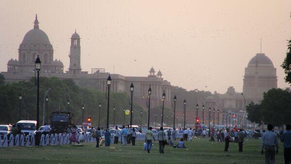 New Delhi skyline - Sputnik International