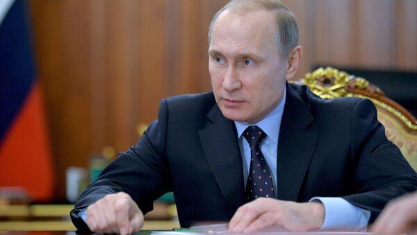 President Putin holds meeting on economic issues - Sputnik International