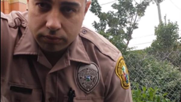 WATCH: Tables Turn as Miami Driver Pulls Over Cop for Speeding - Sputnik International