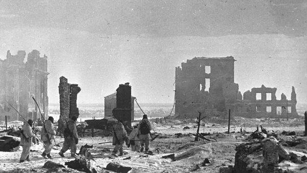 Center of Stalingrad after liberation - Sputnik International