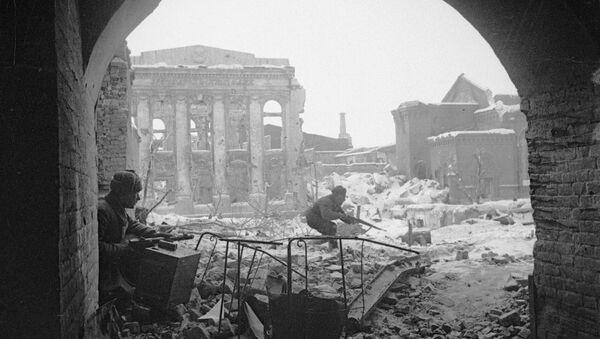 Battles in Stalingrad - Sputnik International