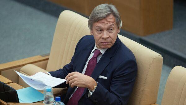 Alexei Pushkov, Chairman of the Committee on International Affairs - Sputnik International