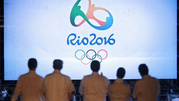 2016 Rio Olympic Games logo. File photo - Sputnik International