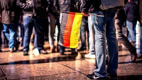 Demonstration of German party AfD (Alternative for Germany) in Mainz, Germany. - Sputnik International