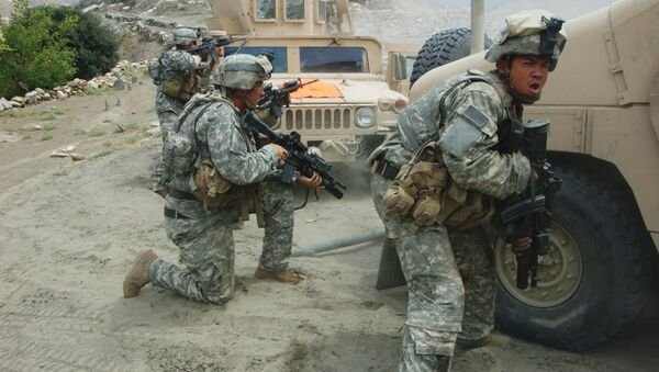 US Troops in Afghanistan - Sputnik International