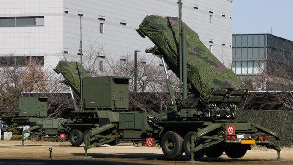 Japan Self-Defense Force's PAC-3 Patriot missile unit deployed for North Korea's rocket launch at the Defense Ministry in Tokyo, Sunday, Jan. 31, 2016 - Sputnik International