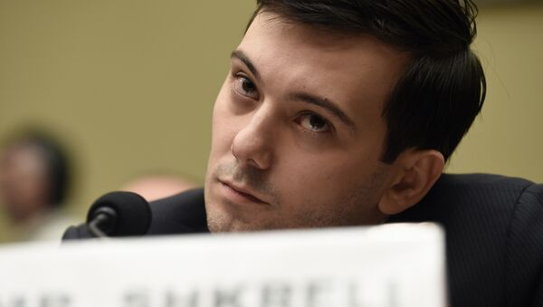 'Pharma Bro' Smirks Through Hearing With 'Imbecile' US Lawmakers - Sputnik International