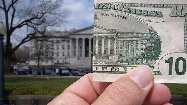 $10 and the US Treasury - Sputnik International