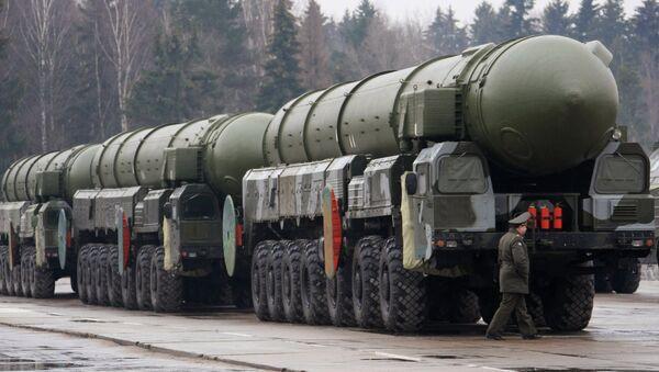Topol strategic missile complex. File photo - Sputnik International