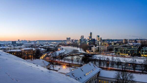Winter cityscape of Vilnius - Sputnik International