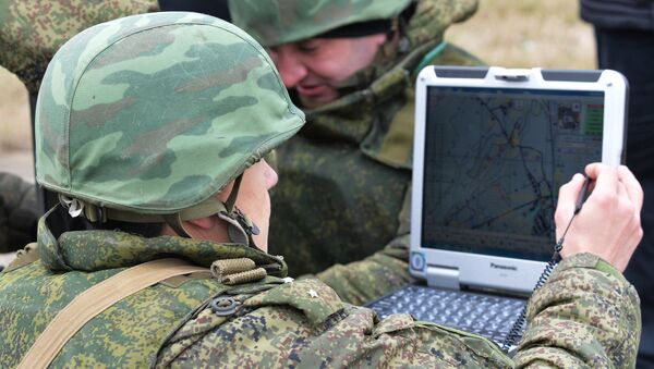 Exercise of the Southern Military District special mission brigade - Sputnik International