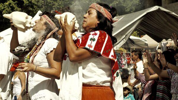 Indigenous ritual - Sputnik International