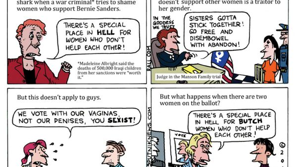 Hillary's War on Women - Sputnik International