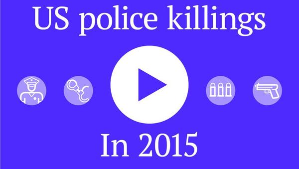 US Police Killings in 2015 - Sputnik International