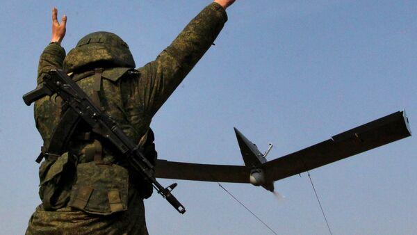 Small unmanned aerial vehicle. File photo - Sputnik International