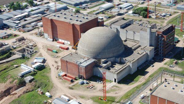 Atucha II Nuclear Power Plant - Sputnik International