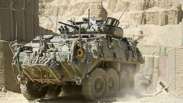 General Dynamics LAV III  in Afghanistan - Sputnik International