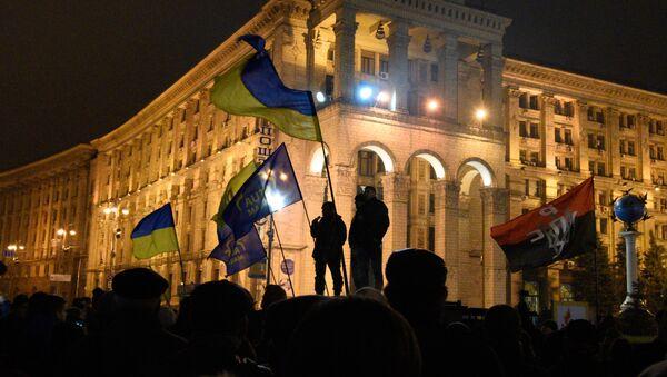 Anniversary of Maidan in Kiev - Sputnik International